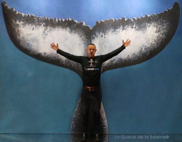 Stéphane Mifsud, champion du monde d'apnée.