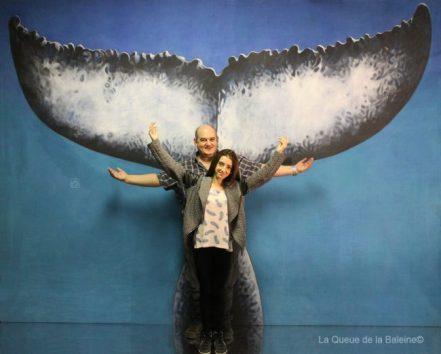 257 Paul et Laura à l'atelier à Montreuil devant La Queue de la Baleine.