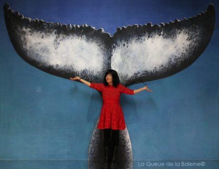 280 Carla Broucque avec La Queue de la Baleine aux Portes Ouvertes des Ateliers d'Artistes de Montreuil.