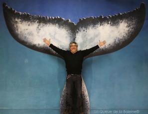 283 Pablo Araya Aguire avec La Queue de la Baleine aux Portes Ouvertes des Ateliers d'Artistes de Montreuil.