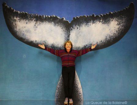 284 Françoise Gigleux avec La Queue de la Baleine aux Portes Ouvertes des Ateliers d'Artistes de Montreuil.