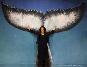 285 Alexie Lorca avec La Queue de la Baleine aux Portes Ouvertes des Ateliers d'Artistes de Montreuil.