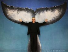 286 Denis Vemclefs avec La Queue de la Baleine aux Portes Ouvertes des Ateliers d'Artistes de Montreuil.