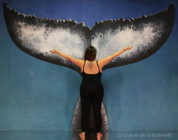 287 Aurélie Dutailly avec La Queue de la Baleine aux Portes Ouvertes des Ateliers d'Artistes de Montreuil.