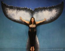 288 Aurélie Dutailly avec La Queue de la Baleine aux Portes Ouvertes des Ateliers d'Artistes de Montreuil.