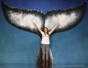 289 Mélodie Langlois avec La Queue de la Baleine aux Portes Ouvertes des Ateliers d'Artistes de Montreuil.