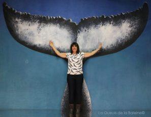 291 Laurence Mambré avec La Queue de la Baleine aux Portes Ouvertes des Ateliers d'Artistes de Montreuil.