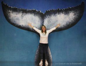 292 Sandra Guyomard avec La Queue de la Baleine aux Portes Ouvertes des Ateliers d'Artistes de Montreuil.