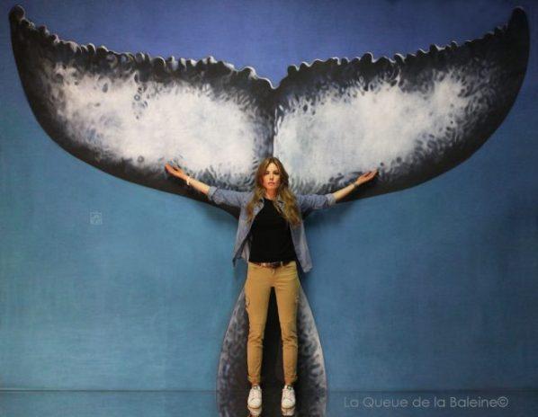 293 Charlotte Profichet avec La Queue de la Baleine aux Portes Ouvertes des Ateliers d'Artistes de Montreuil.
