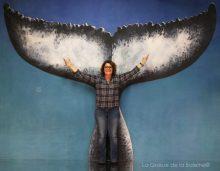 294 Christine Arnaud avec La Queue de la Baleine aux Portes Ouvertes des Ateliers d'Artistes de Montreuil.