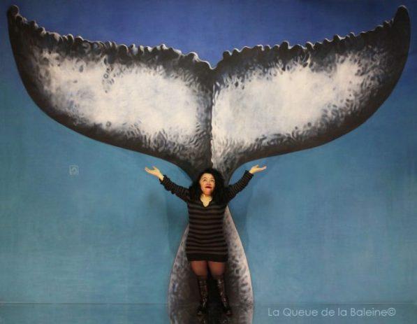 295 Stéphanie Lhorset avec La Queue de la Baleine aux Portes Ouvertes des Ateliers d'Artistes de Montreuil.