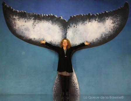 296 Adalet Sukan avec La Queue de la Baleine aux Portes Ouvertes des Ateliers d'Artistes de Montreuil.