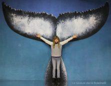 297 Juliette Vidal Pessel avec La Queue de la Baleine aux Portes Ouvertes des Ateliers d'Artistes de Montreuil.
