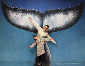 298 Sophie et Alice Vidal Pessel avec La Queue de la Baleine aux Portes Ouvertes des Ateliers d'Artistes de Montreuil.