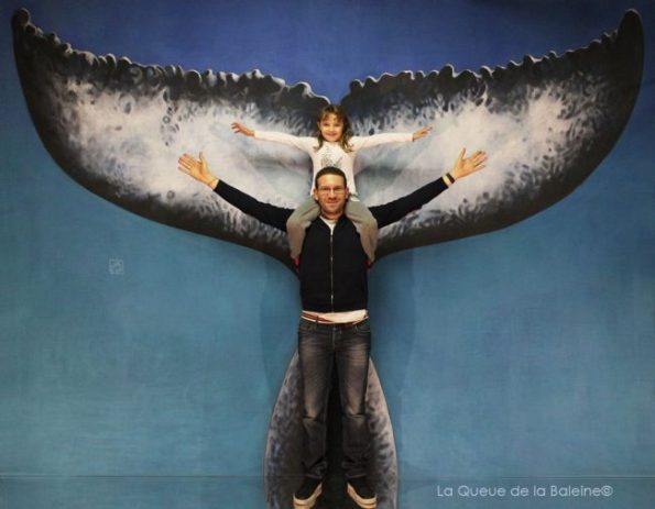 300 Yazid et Inès Benmeriem avec La Queue de la Baleine aux Portes Ouvertes des Ateliers d'Artistes de Montreuil.