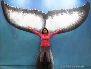 358 Harilala Rakotoarison avec La Queue de la Baleine au Salon de la plongée/Paris