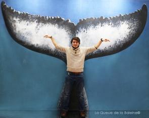 Arthur Sole - Fourmant avec La Queue de la Baleine au Salon de la plongée/Paris