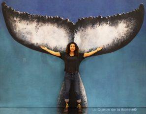 Azad Kalamian avec La Queue de la Baleine au Salon de la plongée/Paris