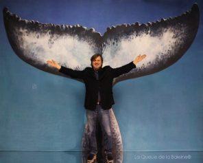 Mathieu Casalta devant La Queue de la Baleine