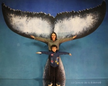 Marion et Hector Noulhiane devant La Queue de la Baleine.