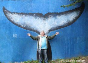 6 Joel Hérisson au 91 à Bagnolet devant La Queue de la Baleine.