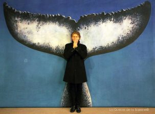 Pascal Lamy Rousseau avec La Queue de la Baleine