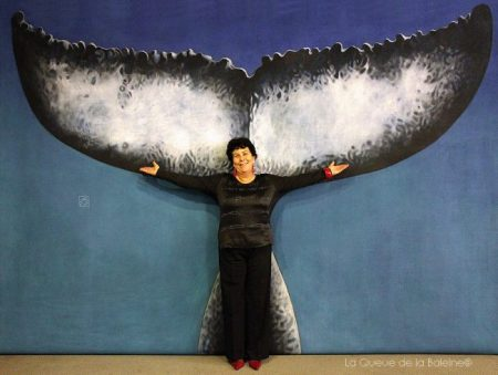 Anne Ged avec La Queue de la Baleine