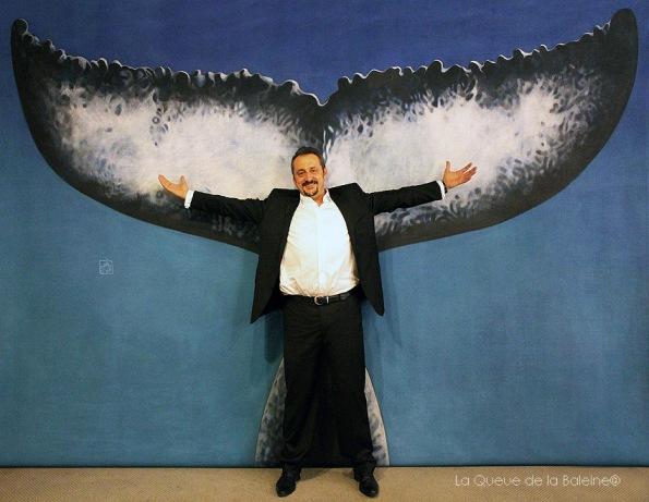 Stéphane Carmine avec La Queue de la Baleine