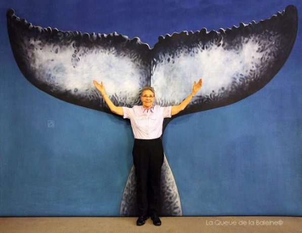Madeline Schmitt avec La Queue de la Baleine
