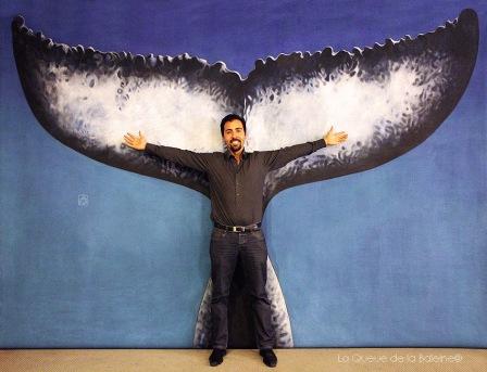 Arnaud Carmine avec La Queue de la Baleine