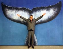 Sylvain Carmine avec La Queue de la Baleine