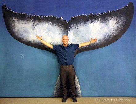 Yann Robbiani avec La Queue de la Baleine