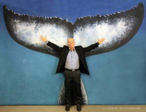 Luc Robbiani avec La Queue de la Baleine
