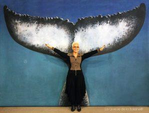 Christiane Robbiani avec La Queue de la Baleine