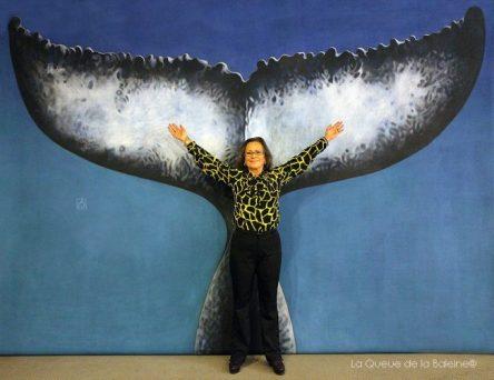 Joelle Mestas avec La Queue de la Baleine