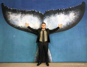 Romain Carmine avec La Queue de la Baleine