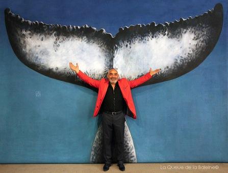 Jorge Moreira avec La Queue de la Baleine