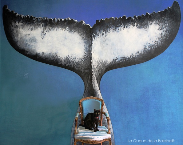 Oméga Berguglian devant La Queue de la Baleine.