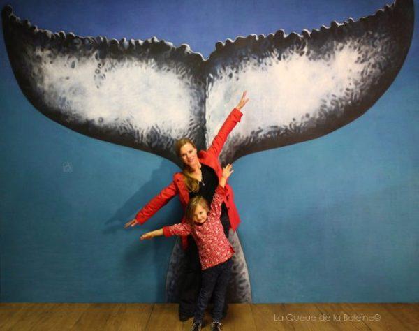 Caroline Wei, fondatrice de la Fabrique de Bagnolet, à l'atelier devant La Queue de la Baleine