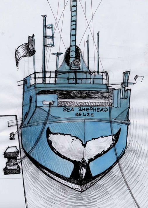 Conception du projet de la queue de la Baleine.