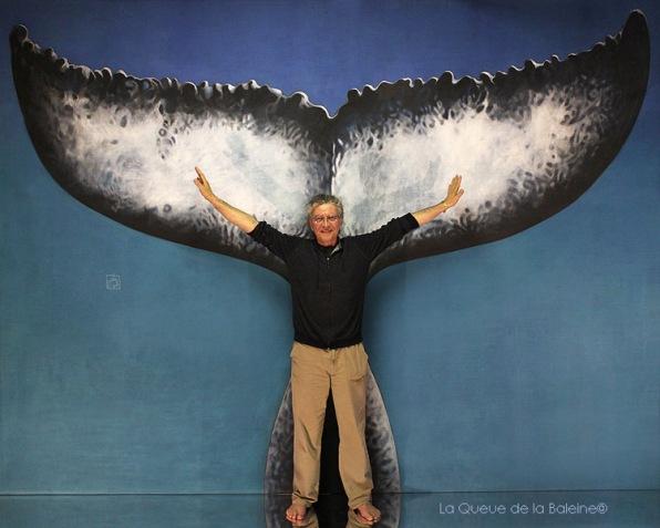 Richard avec La Queue de la Baleine