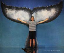 Valentin avec La Queue de la Baleine