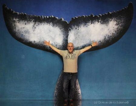 Joël Boëdec avec La Queue de la Baleine
