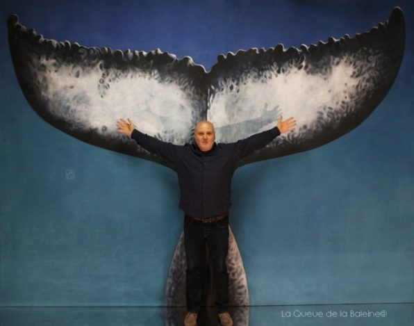 Pierre Guinard avec La Queue de la Baleine