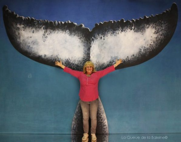 Danielle Espinosa avec La Queue de la Baleine