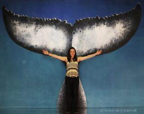 Julie Costanza avec La Queue de la Baleine