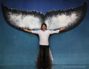 Philippe Jourdan avec La Queue de la Baleine