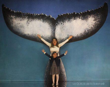 Chantal Zouein et Stella avec La Queue de la Baleine