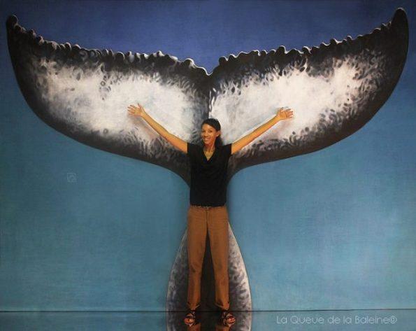 Elisabeth Lopes avec La Queue de la Baleine