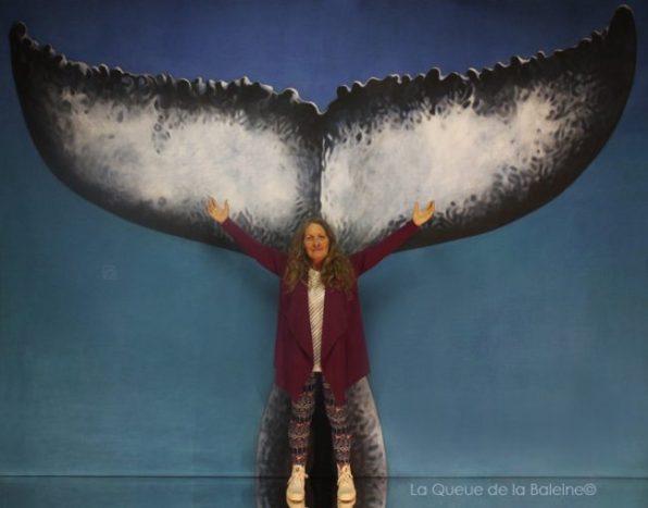 Sarahmaïa avec La Queue de la Baleine